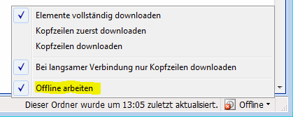 Outlook2003offline
